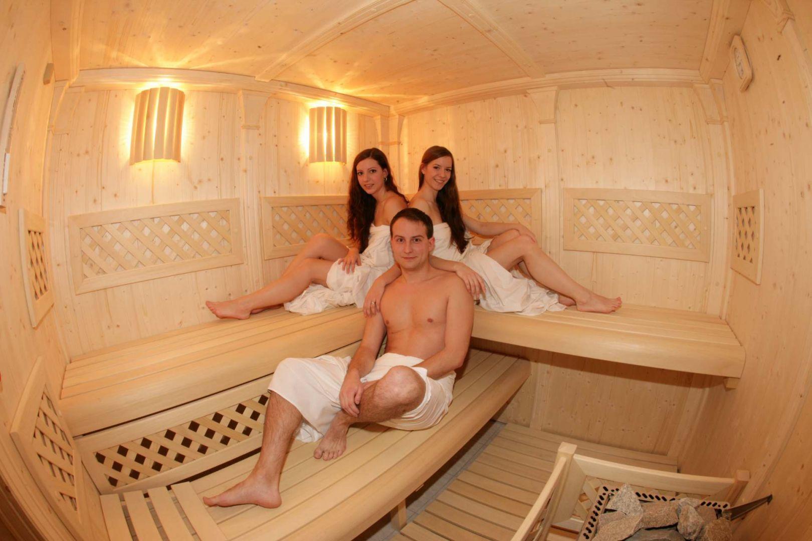 Steifen in der sauna